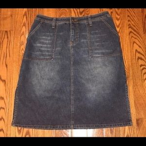 Lane Bryant Venezia Denim Skirt | 14W